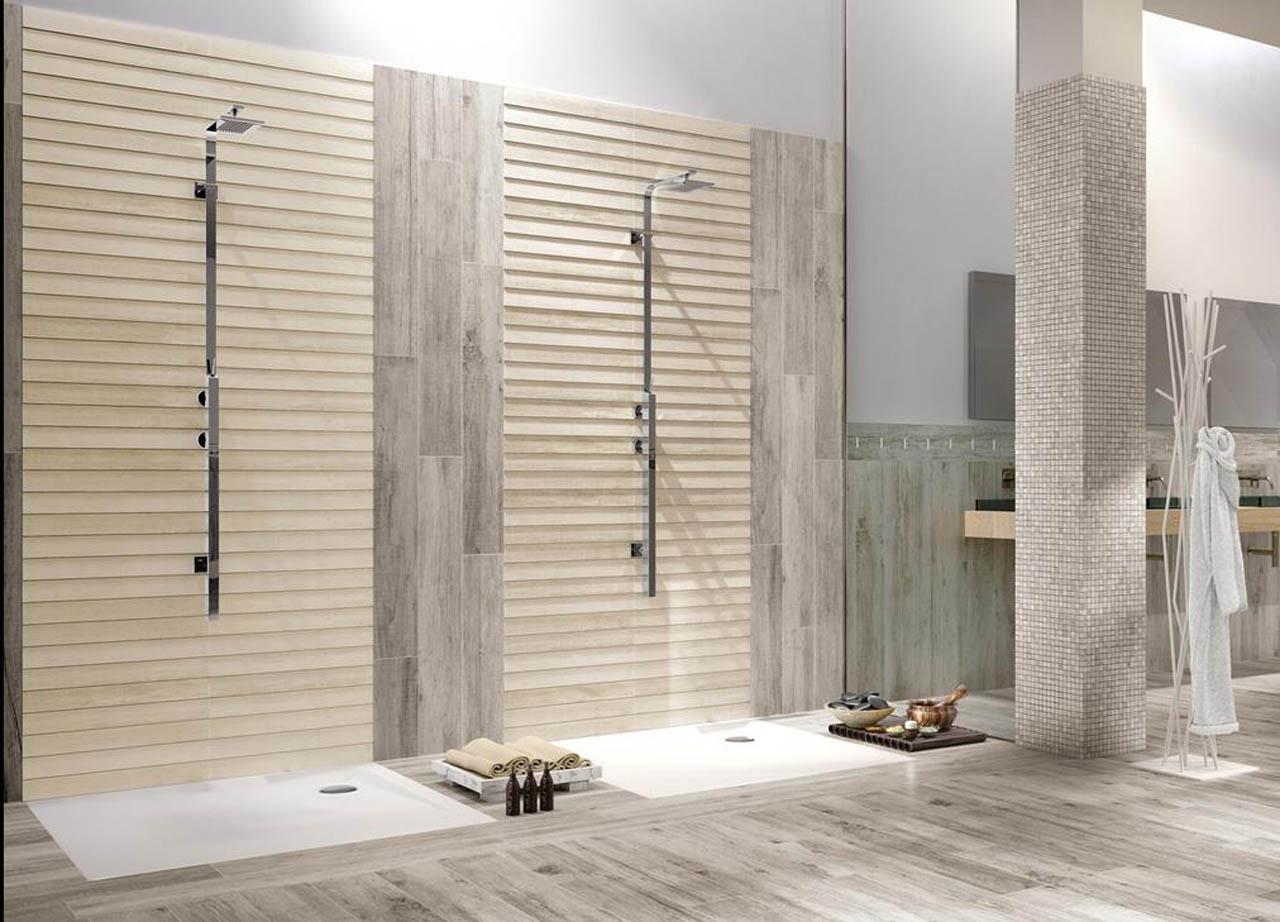 Bagni in legno pavimento effetto legno per bagno with - Pavimento in legno per bagno ...